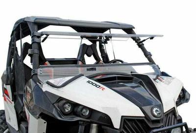 SuperATV Can-Am Maverick Windshield Flip Scratch Resistant FWS-CA-MAV-001-70