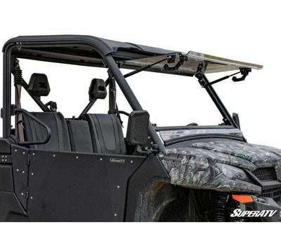 SuperATV CFMOTO UForce 1000 Windshield Flip Scratch Resistant FWS-CF-UF1000-70
