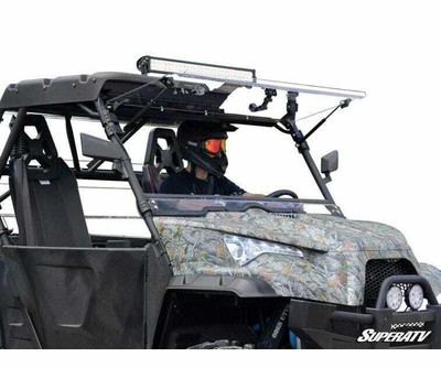 SuperATV ODES Dominator Windshield Flip Scratch Resistant FWS-O-001-70