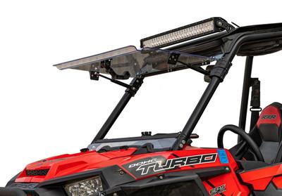 SuperATV RZR 900 Windshield Flip Scratch Resistant FWS-P-RZR-1K-70#NH