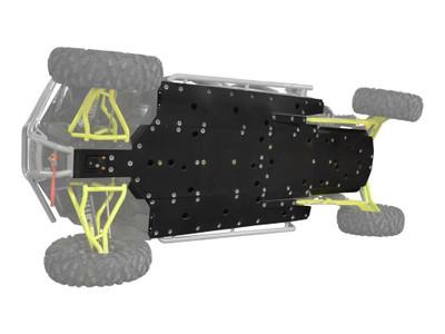 SuperATV RZR 4 XP Turbo Full Skid Plate FSP-P-RZRXPT4#DX