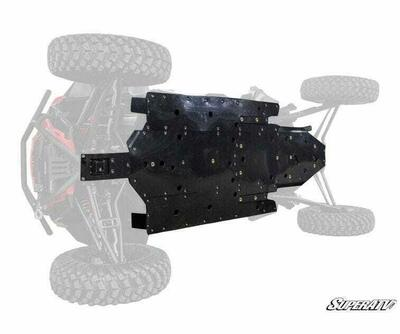 SuperATV RZR 4 XP Turbo S Full Skid Plate FSP-P-RZRXPTS4