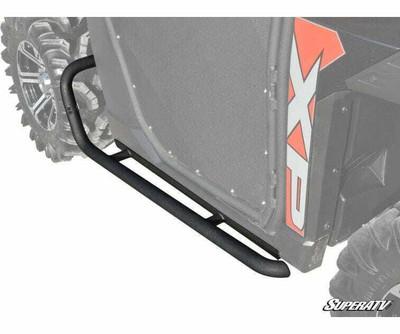 SuperATV Polaris Ranger XP 1000 Heavy Duty Rock Slider Nerf Bars NB-P-RAN900-00#RK