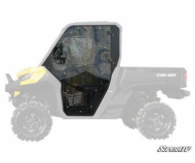 SuperATV Can-Am Defender Full Cab Enclosure Doors DOOR-CA-DEF-001-72