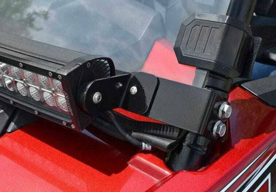SuperATV RZR Light Bar Cage Mount 30 Light Bar and Flush to Hood LB3-ACC-9-02