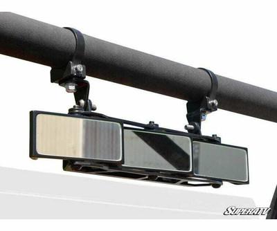 SuperATV 3 Panel Rear View Mirror 1.75 Clamps RVM-011