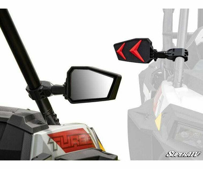 SuperATV Kawasaki Seeker Side View Mirrors SVM-003#KA