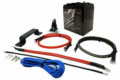 UTV Stereo Polaris RZR 2nd Battery Kit UTVSTO-RZR-2BK