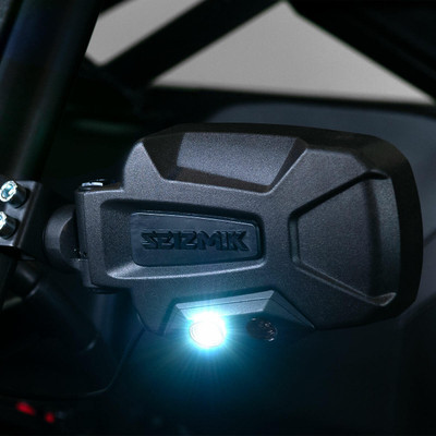 Seizmik Pursuit Night Vision Series Side View Mirror Polaris Pro-Fit and Can-Am Profiled 18088