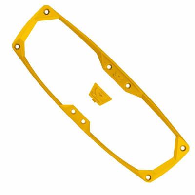 Seizmik Halo-R Series Bezel and Cap Kit Yellow 19001
