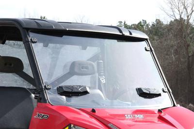Seizmik Polaris Pro-Fit Ranger Windshield Versa-Vent Hard Poly 25024