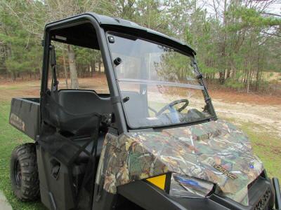 Seizmik Polaris Mid-Size Pro-Fit Ranger Windshield Versa-Fold Hard Poly 25003