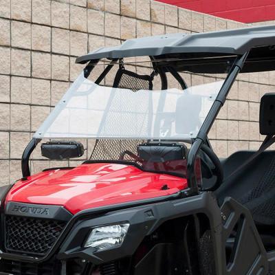 Seizmik Honda Pioneer 500 Windshield Versa-Vent Scratch Resistant Poly 25034