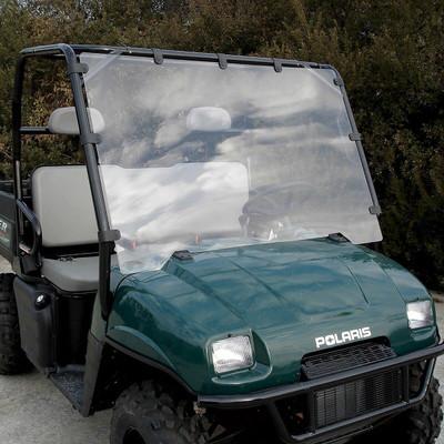 Seizmik 2002-08 Polaris Ranger Round Tube Windshield Full UV Resistant Poly 23018