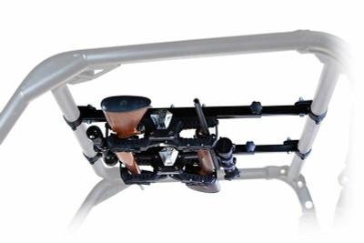 Seizmik 2″/1.875″ Round Tube ROPS Over Head Gun Rack 07301