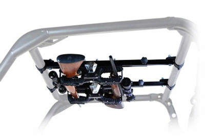 Seizmik Polaris Ranger Pro-Fit Full Size Over Head Gun Rack 7302