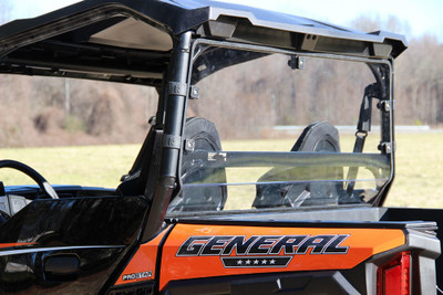 Seizmik Polaris General Hard Rear Dust Panel Uncoated Poly 4025