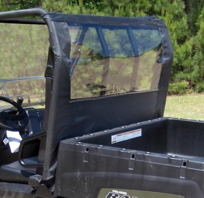 Seizmik 2009-2014 Polaris Full Size Ranger/Bobcat Soft Rear Dust and Window Panel 4017