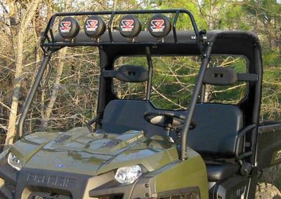 Seizmik 2009-14 Polaris Ranger Full Round TubeSoft Top and Rear Panel 18044