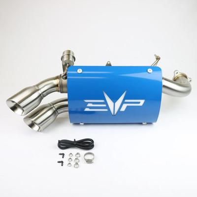 EVO Powersports Polaris RZR XP Turbo Captains Choice Exhaust EVO-RZR-CCE