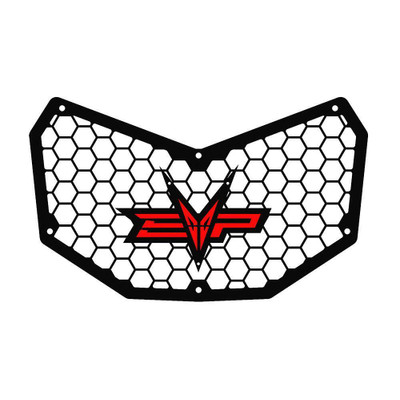 EVO Powersports Can Am Maverick X3 Front Grill Red EVO-CA-FG-RD