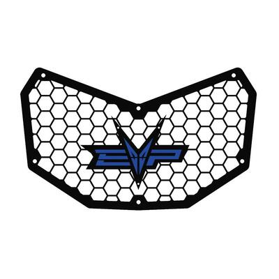 EVO Powersports Can Am Maverick X3 Front Grill Blue EVO-CA-FG-BL