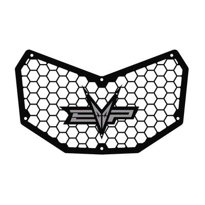EVO Powersports Can Am Maverick X3 Front Grill Silver EVO-CA-FG-SL
