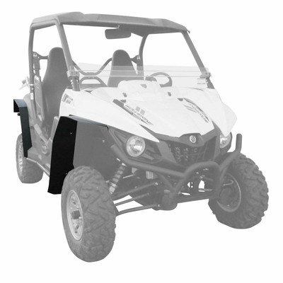 MudBusters 2015-18 Yamaha Wolverine Fender Flares Front and Rear With Coverage MB-YW-FRC
