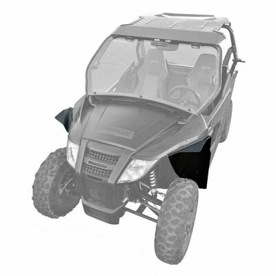 MudBusters Arctic Cat Wildcat Trail 700 Fender Flares Front Only MB-AW7-FO