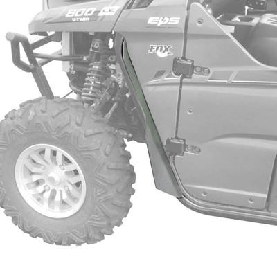 MudBusters 2012-20 Kawasaki Teryx 4 Fender Flares Front Only Extra Coverage MB-KT4-FOE