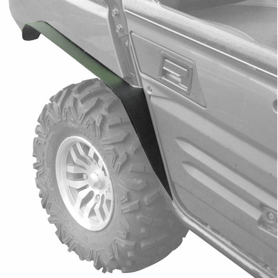 MudBusters 2012-20 Kawasaki Teryx 4 Fender Flares Rear Only Extra Coverage MB-KT4-ROE