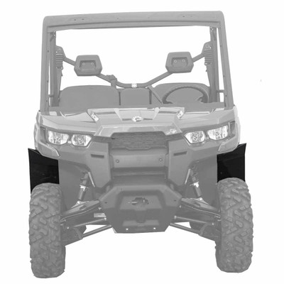 MudBusters 2016-21 Can-Am Defender Max Coverage Fender Flares Front Only MB-CAD-FO