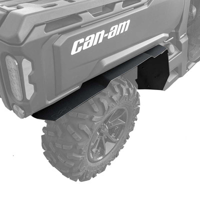 MudBusters 2016-21 Can-Am Defender Max Coverage Fender Flares Rear Only MB-CAD-RO