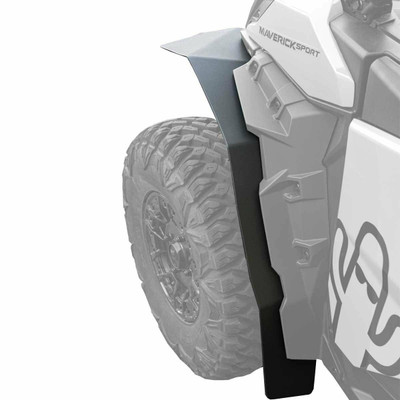 MudBusters 2019-21 Can-Am Maverick Sport Max Coverage Fender Flares Rear Only MB-CAS-RO