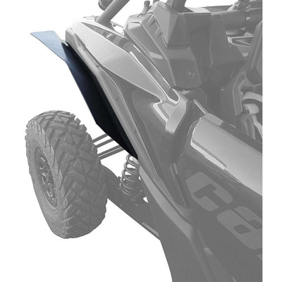 MudBusters Can-Am Maverick X3 DS XL Fenders Rear Only MB-X3-XLRO