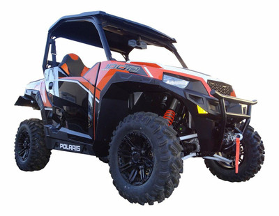 MudBusters 2016-20 Polaris General 1000 Fender Flares Rear Only Extra Coverage MB-GL-ROE