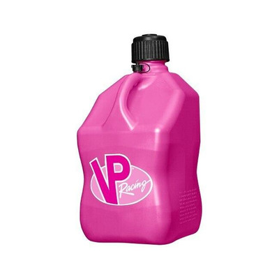 VP Racing 5 Gallon Square Motorsports Container Pink 3812