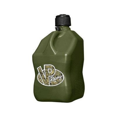 VP Racing 5 Gallon Square Motorsports Container Camo 3842