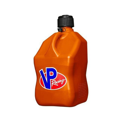 VP Racing 5 Gallon Square Motorsports Container Orange 35723