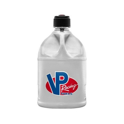 VP Racing 5 Gallon Round Motorsports Container White 3023