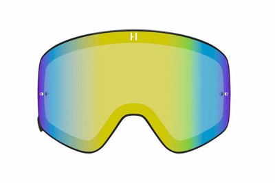 Havoc Racing Co Infinity Goggle Dual-Pane Magnetic Winter Lens Gold DP-GLD01