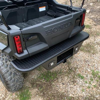 Texas Outdoors Honda Pioneer 1000 Ranch Armor Rear Replacement Bumper HB12