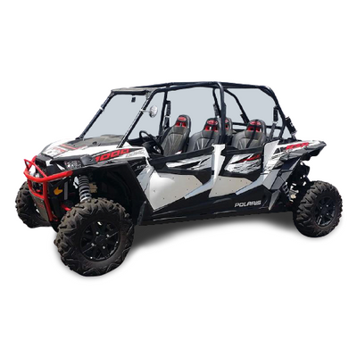 Factory UTV Polaris RZR XP4 Turbo Complete Door Insert Kit XP4TURBODOORINSERTS