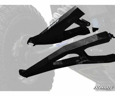 SuperATV Polaris RZR XP Turbo High Clearance Boxed A-Arms SATV-1