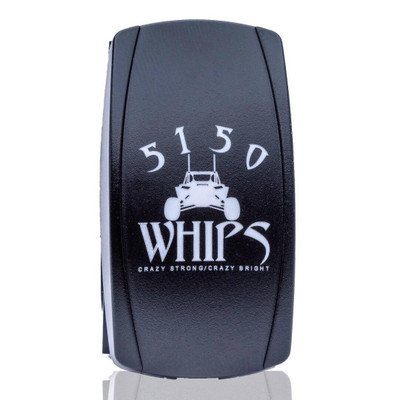 5150 Whips Rocker Switch Red 5150-RSR