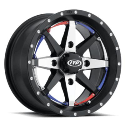 ITP Tires Cyclone UTV Wheel 15x7 4x156 Black 1522309727B