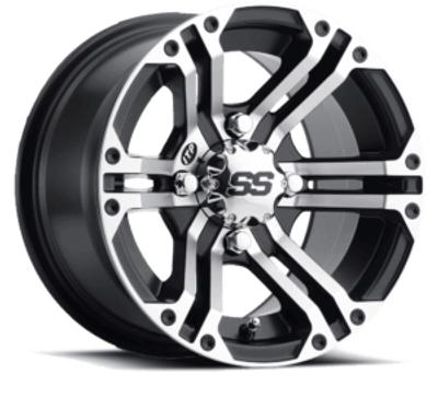 ITP Tires SS Alloy SS212 UTV Wheel 14x6 4x115 Black 1428379536B