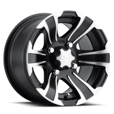 ITP Tires SS Alloy SS312 UTV Wheel 14x6 4x137 Black 1428454536B