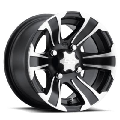 ITP Tires SS Alloy SS312 UTV Wheel 12x7 4x110 Black 1228439536B