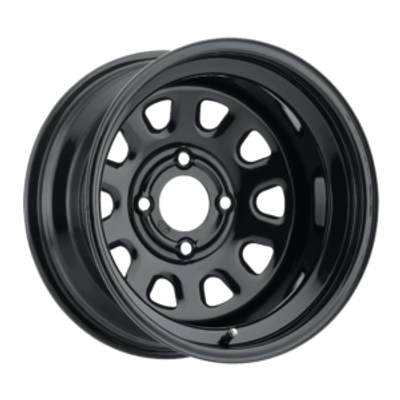 ITP Tires Delta Steel UTV Wheel 12x7 4x156 Gloss Black 1222565014